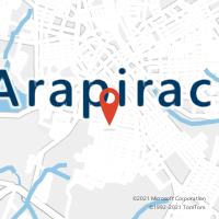 Mapa com localização da Agência AC MAJOR ISIDORO