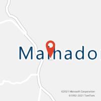 Mapa com localização da Agência AC MALHADOR