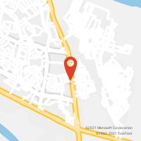 Mapa com localização da Agência AC MARABA