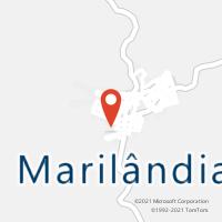Mapa com localização da Agência AC MARILANDIA
