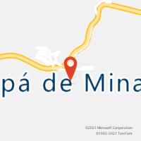 Mapa com localização da Agência AC MARIPA DE MINAS