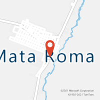 Mapa com localização da Agência AC MATA ROMA