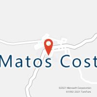 Mapa com localização da Agência AC MATOS COSTA