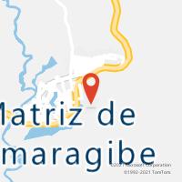 Mapa com localização da Agência AC MATRIZ DE CAMARAGIBE