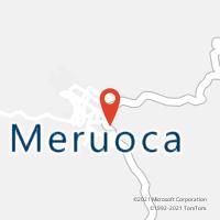 Mapa com localização da Agência AC MERUOCA