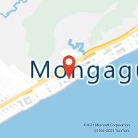 Mapa com localização da Agência AC MONGAGUA