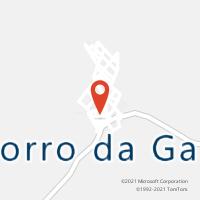 Mapa com localização da Agência AC MORRO DA GARCA