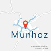 Mapa com localização da Agência AC MUNHOZ