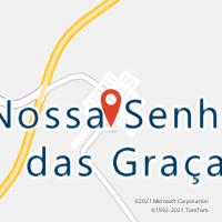 Mapa com localização da Agência AC NOSSA SENHORA DAS GRACAS