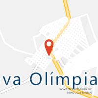 Mapa com localização da Agência AC NOVA OLIMPIA