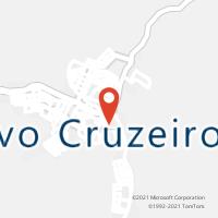Mapa com localização da Agência AC NOVO CRUZEIRO