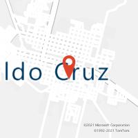 Mapa com localização da Agência AC OSVALDO CRUZ