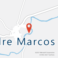 Mapa com localização da Agência AC PADRE MARCOS