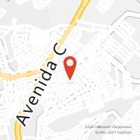 Mapa com localização da Agência AC PALMITO
