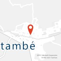 Mapa com localização da Agência AC PEDRAS DE FOGO