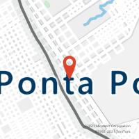 Mapa com localização da Agência AC PONTA PORA