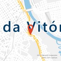 Mapa com localização da Agência AC PORTO UNIAO