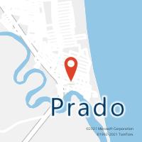Mapa com localização da Agência AC PRADO