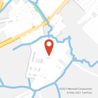 Mapa com localização da Agência AC PROMISSAO