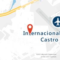 Mapa com localização da Agência AC PUXINANA