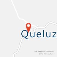 Mapa com localização da Agência AC QUELUZITO