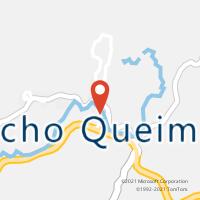 Mapa com localização da Agência AC RANCHO QUEIMADO