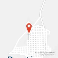 Mapa com localização da Agência AC RESTINGA SECA