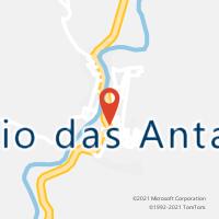 Mapa com localização da Agência AC RIO DAS ANTAS