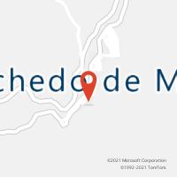 Mapa com localização da Agência AC ROCHEDO DE MINAS