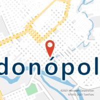 Mapa com localização da Agência AC RONDONOPOLIS