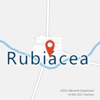 Mapa com localização da Agência AC RUBIACEA