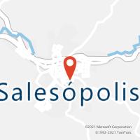Mapa com localização da Agência AC SALESOPOLIS