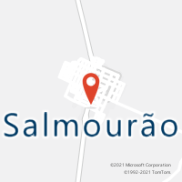 Mapa com localização da Agência AC SALMOURAO
