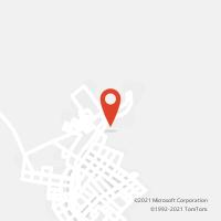 Mapa com localização da Agência AC SANTA BARBARA DO SUL