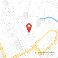 Mapa com localização da Agência AC SANTA MARTA