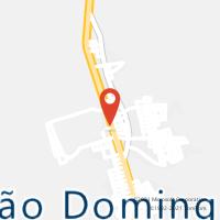 Mapa com localização da Agência AC SAO DOMINGOS DO ARAGUAIA