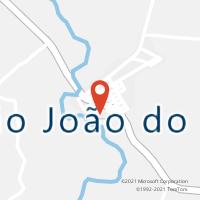 Mapa com localização da Agência AC SAO JOAO DO SUL