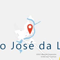 Mapa com localização da Agência AC SAO JOSE DA LAJE