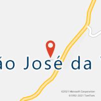 Mapa com localização da Agência AC SAO JOSE DA VITORIA