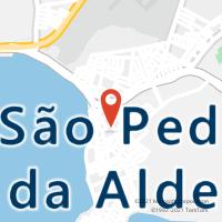 Mapa com localização da Agência AC SAO PEDRO DA ALDEIA