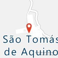 Mapa com localização da Agência AC SAO TOMAS DE AQUINO