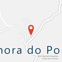 Mapa com localização da Agência AC SENHORA DO PORTO