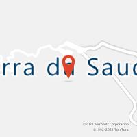 Mapa com localização da Agência AC SERRA DA SAUDADE