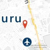 Mapa com localização da Agência AC SHOPPING CENTER BAURU