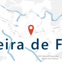 Mapa com localização da Agência AC TEIXEIRA DE FREITAS
