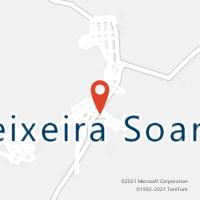 Mapa com localização da Agência AC TEIXEIRA SOARES