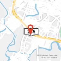 Mapa com localização da Agência AC TERMINAL RODOVIARIO