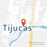 Mapa com localização da Agência AC TIJUCAS