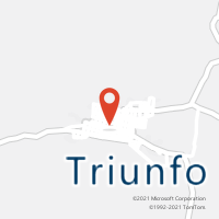 Mapa com localização da Agência AC TRIUNFO