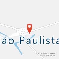 Mapa com localização da Agência AC UNIAO PAULISTA